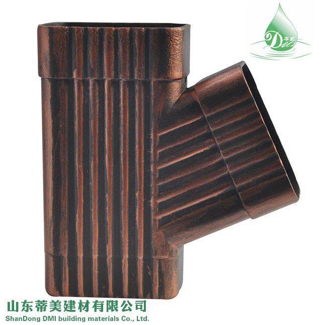 New Sunlight Resistance Color Metal Gutter System, View Metal Gutter System