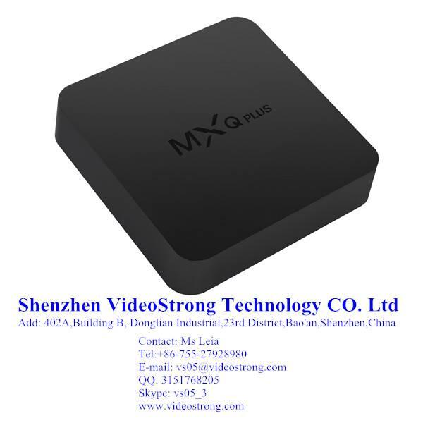 MXQ PLUS 4K Amlogic s905 quad core tv box Smart Android TV box