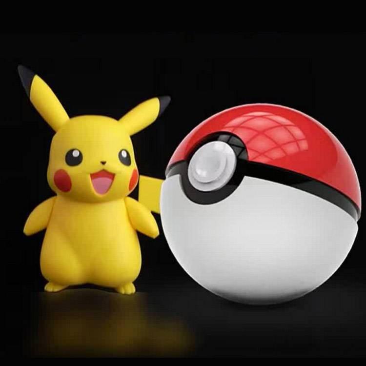 HOT Pokeball 12000mah Pokemon go portable USB battery power bank