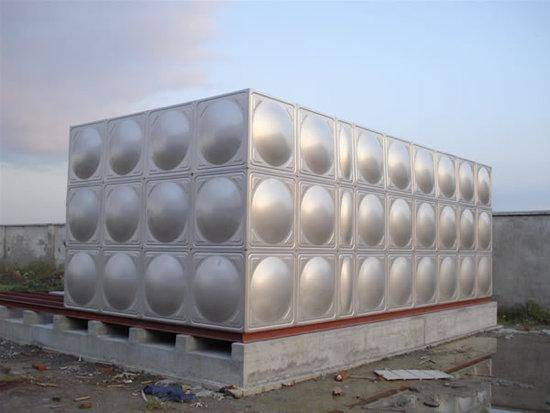 Production and supply of high quality stainless steel water tank fire water tank