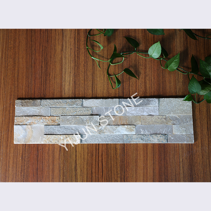 YIJUN STONE/ Light color Natural slate stone/ Cultured stone