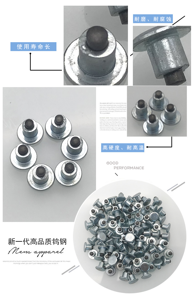 Whole sale tungsten carbide tire stud factory/plant snow tire stud screw ice antiskid