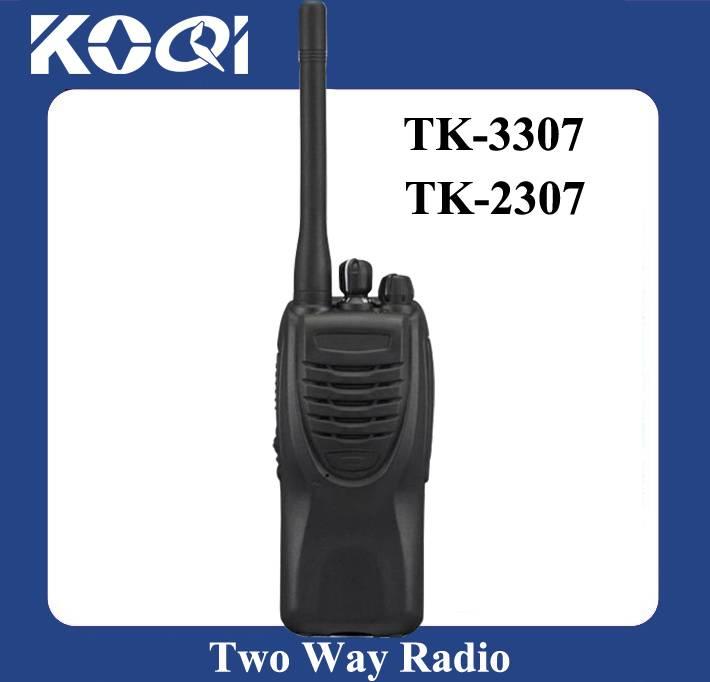 Long Distance Military Equipment TK-2307/TK-3307 VHF/UHF 2 Way Radio 5Watts 16Channel for sale