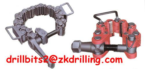 All sizes of safety clamps/Slips