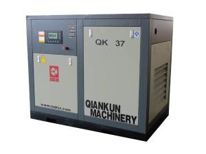 Electric Fixed Screw Air Compressor (QK37KW)