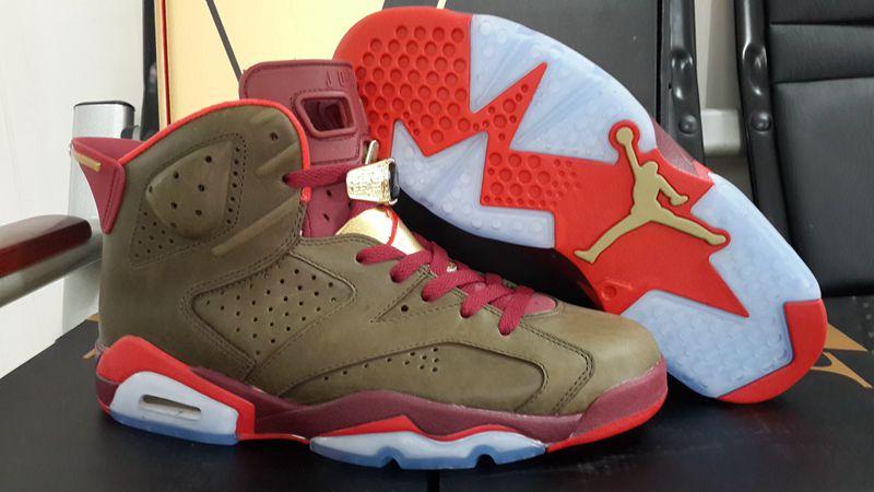 Jordan Air Retro 6 Men Basketball shoes Infrared Oreo WhiteInfared-Black Olympic Carmine Athletic Ou