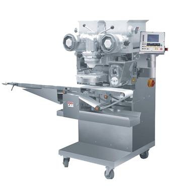 Automatic food encrusting and forming machine