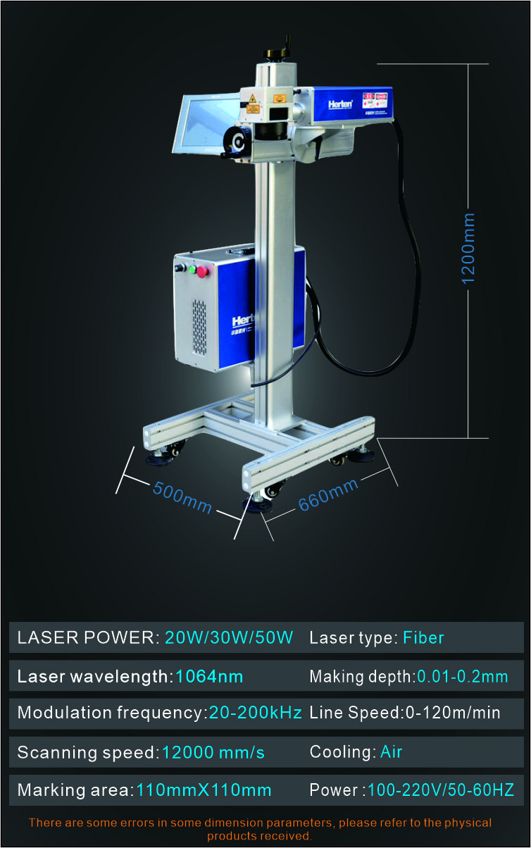 Herten Laser Marking Machine