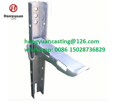 Bracket cable bearer cable bearer wall type c