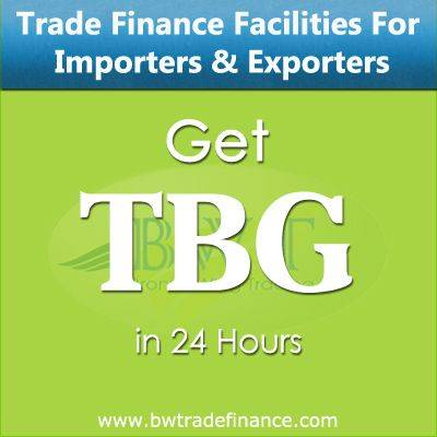 Avail TBG for Importers & Exporters