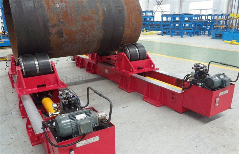 Hydraulic type Fit-up Rotator