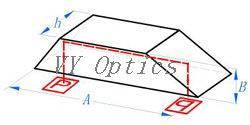 Optical Quartz (JGS1/JGS2) Dove Prism with Ar Coating