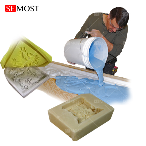 Tin Cure Silicone Rubber for Plaster/Gypsum Mold Making