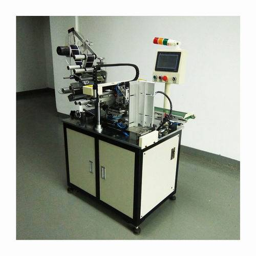 4/ 6 Sides Logo Labeling Machines for Mobile Cell Phone Batteries Automatic Making Production in Fac
