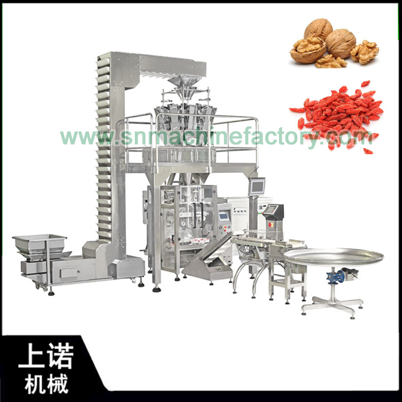 China supplier Automatic weighing packaging machine