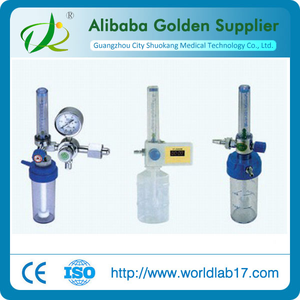Wall fixed oxygen inhalator