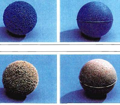 condenser cleaning ball