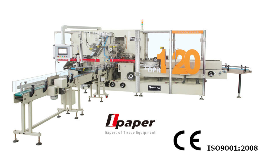 High speed automatic soft drawn facial tissue paper packing machine with great performance