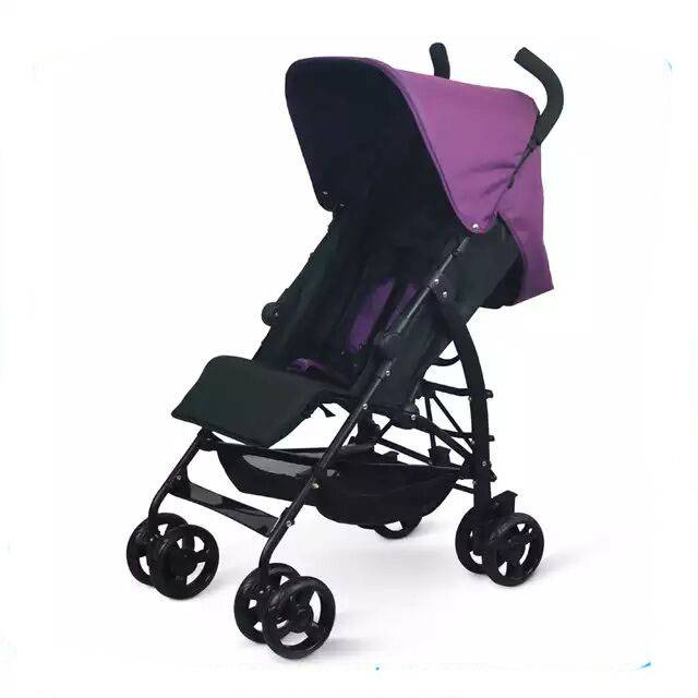 high class 3-in-1 baby stroller pink color