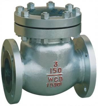 Cast steel WCB swing check valve flange ends 150lbs