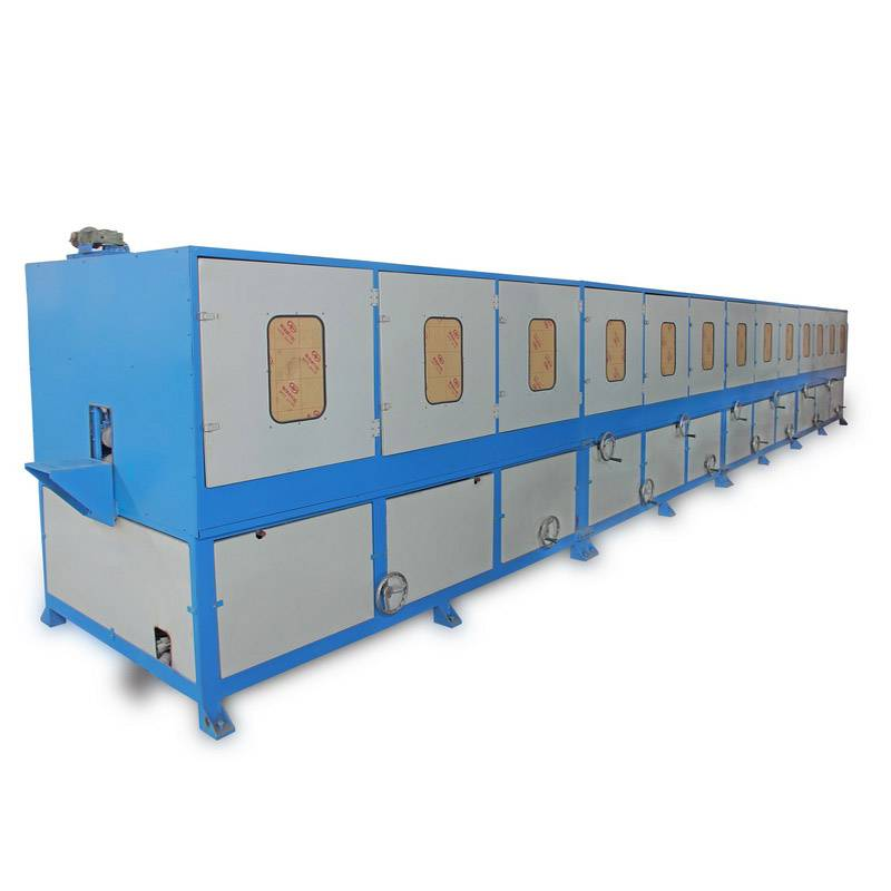 stainless steel square pipe polishing machine