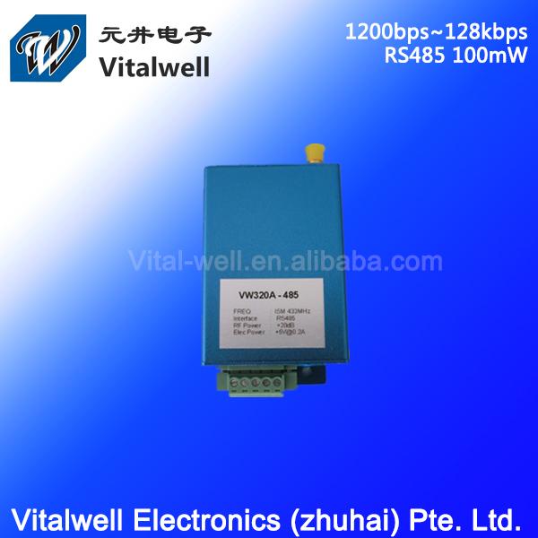 VW320A 24V 2-FSK rs485 433/868mhz rf transceiver