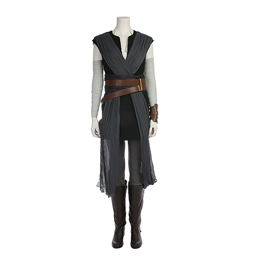 Star wars The last Jedi Rey Cosplay Costume Female