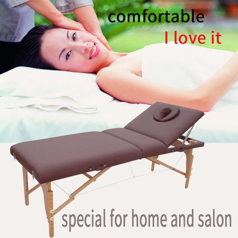 portable massage table massage bed with adjustable backrest