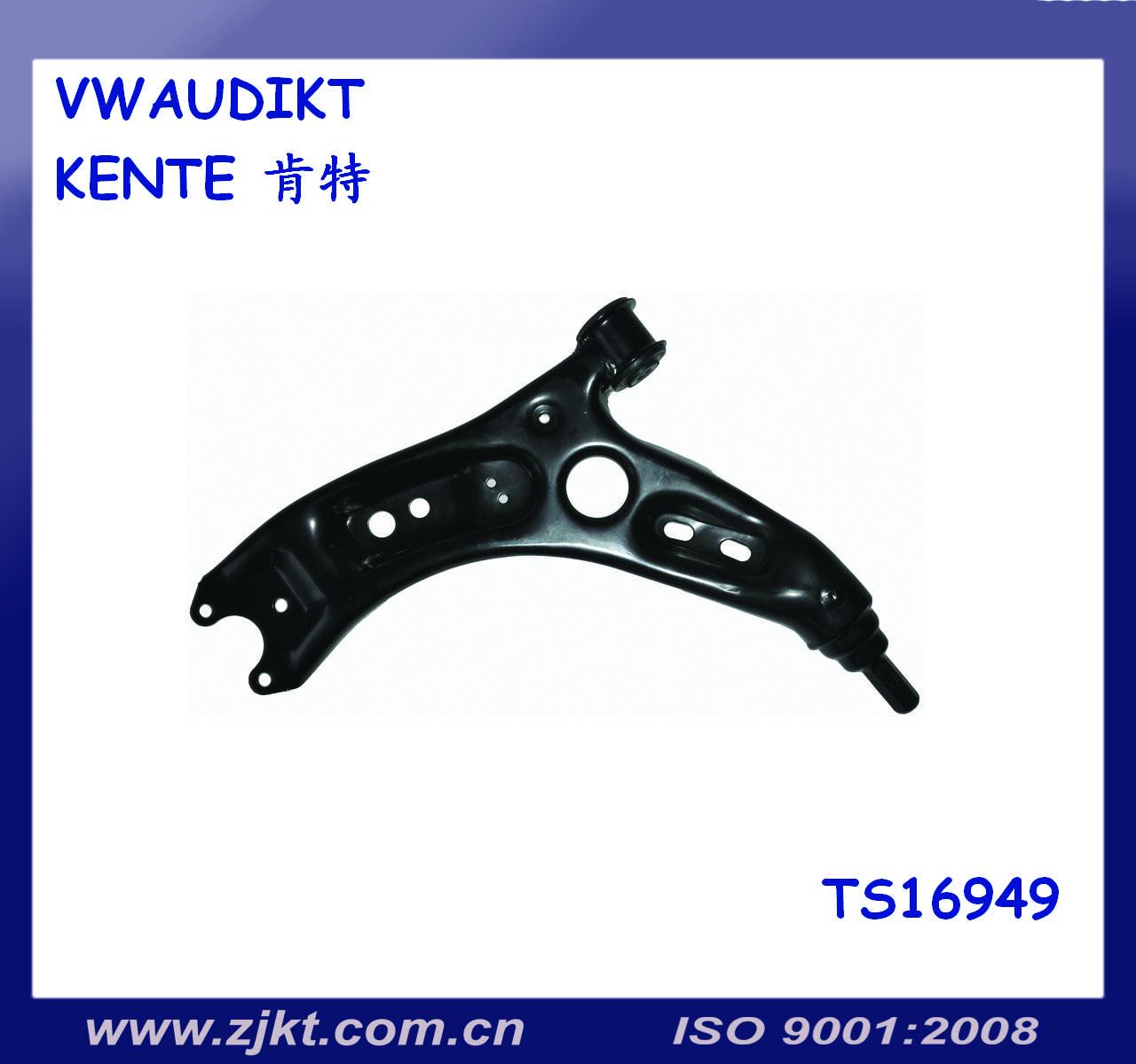 Auto parts VW GOLF control arm OEM 1KD505129-130