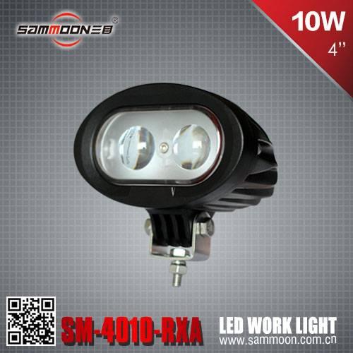 4 Inch 10W cree LED Work Light blue light