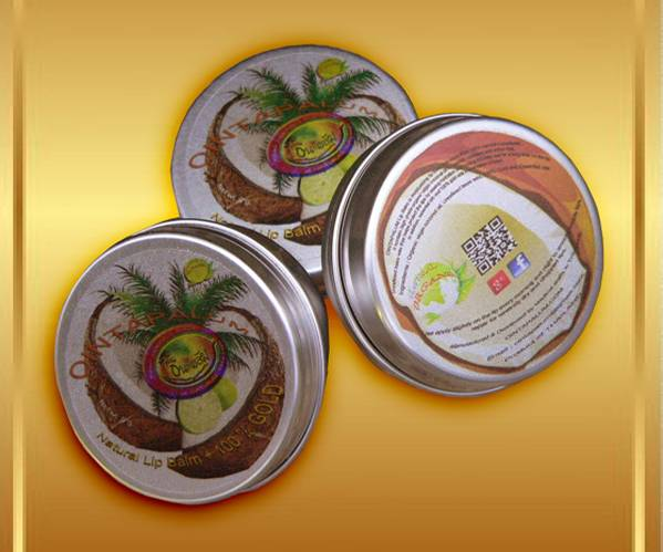 Natural Organic Extra Virgin Coconut Lip Balm