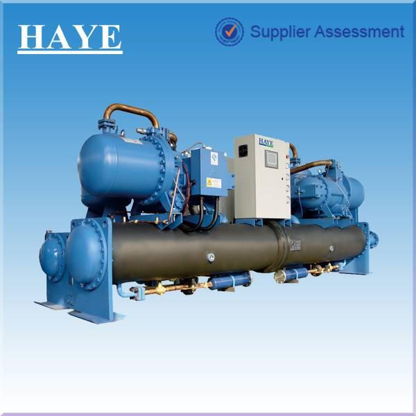 Screw water (ground) heat pump unit (flooded type)