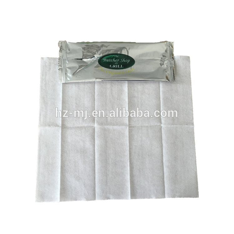 OEM Single wet wipes of restaurant,aieline clean hands