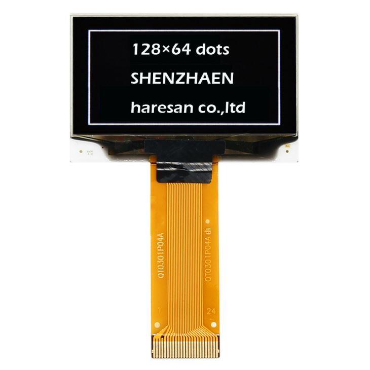 1.54 Inch 128x64 Dots White OLED Display