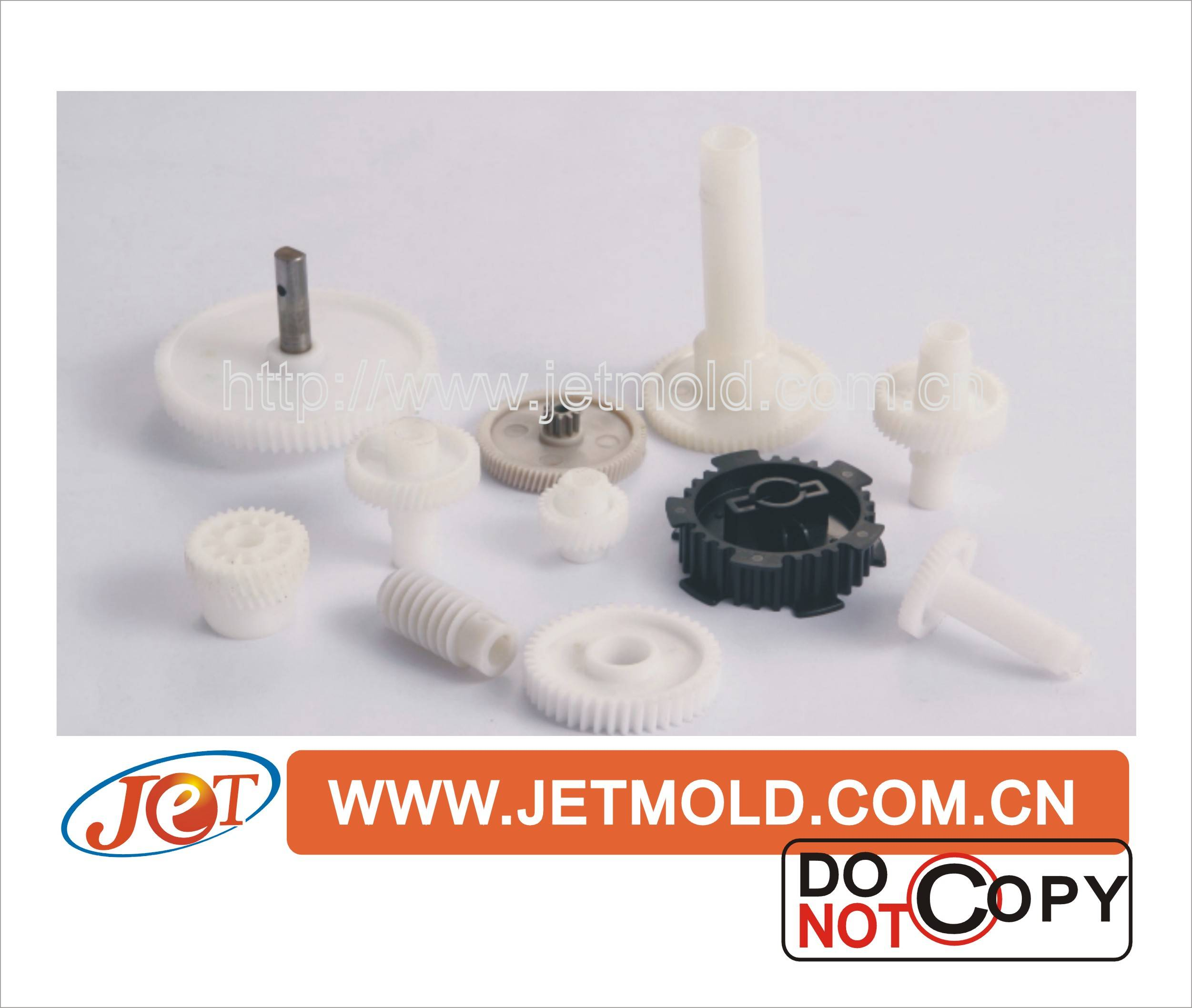 Precision Plastic Injection Molding of Bearing Fitting