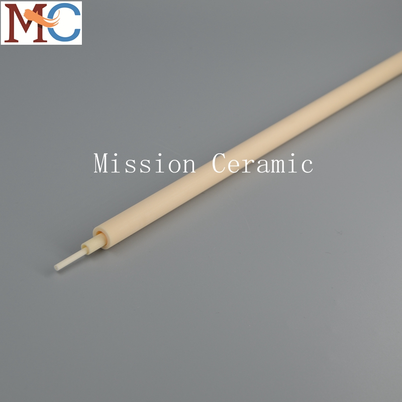 95% 99.7% Alumina Oxide Al2O3 Ceramic Protection Tube