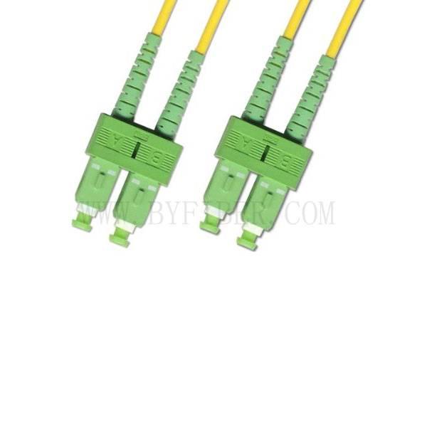 SC/APC-SC/APC Duplex SM Patch Cord