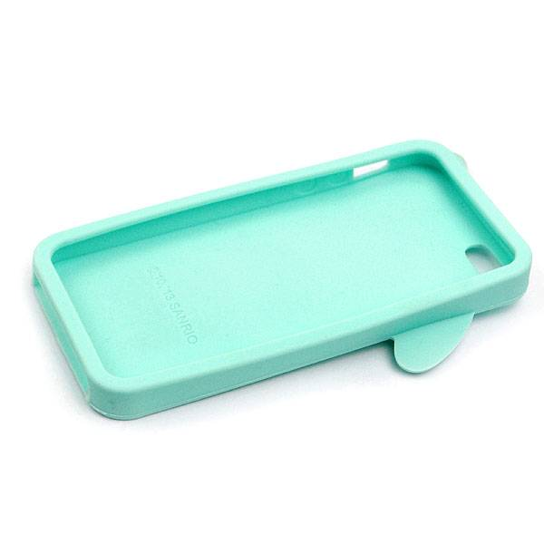 Lovely Rabbit Silicone Soft Cases for iPhone 5/5S - Light Green