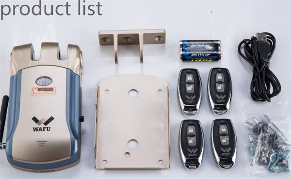 Household Keyless Remote Control Locks From Wafu