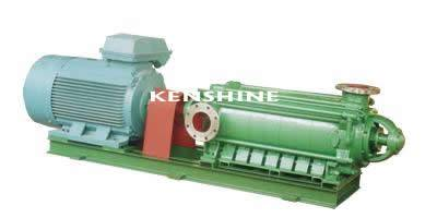 Horizontal multistage centrifugal oil pump