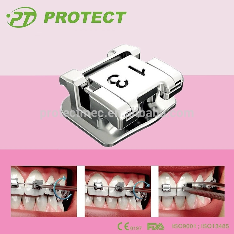 orthodontics braces Top Quality Dental Orthodontic 0.022/0.018 slot mini Self Ligating Bracket