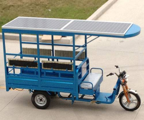electric vans for delivery