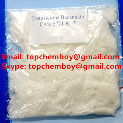 99% 5721-91-5 Testosterone Decanoate / Test deca Raw Steroid Powder Test D hormone