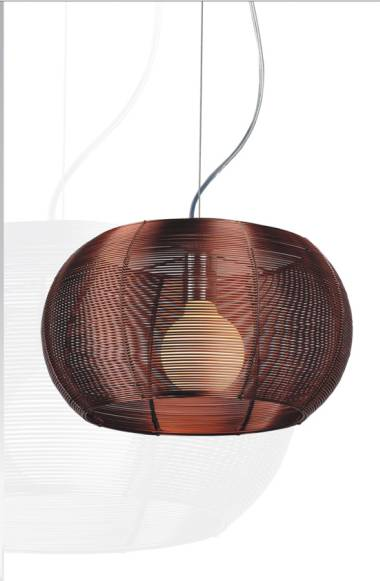aluminium wire ball pendant light