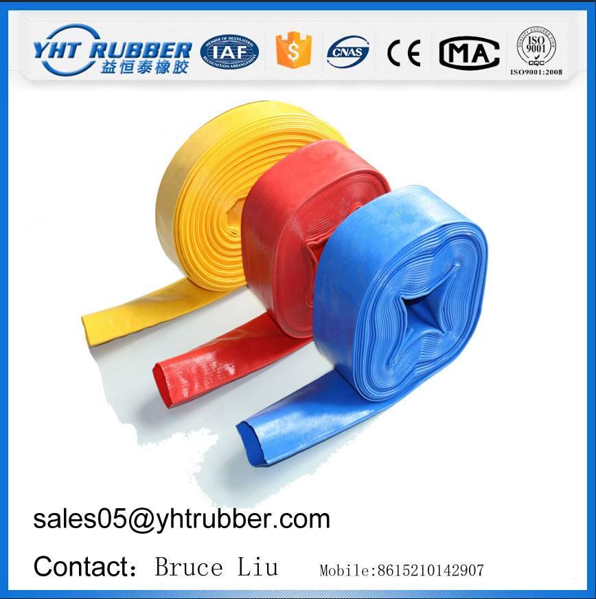 PVC Layflat Hose/PVC Pipe/PVC Hose/Garden Hose/Irrigation Hose