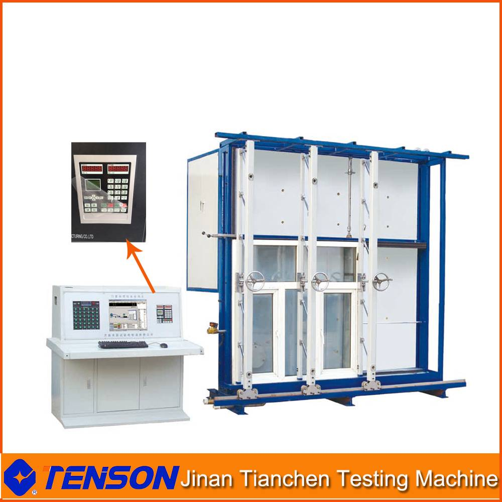 3*3m Door & Window Test Machine for Physical Property Testing CWWS-3030 nd Window Physical Property