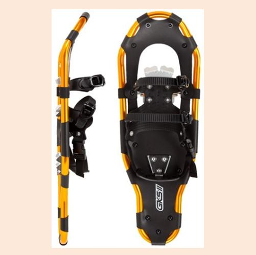 Sporting Snowshoes With Strong Frame And HDPE Deck