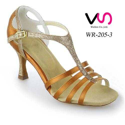 Strappy women dance shoes