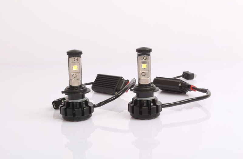 S2 4800lm H7 Bulb COB Car LED Headlight with Canbus