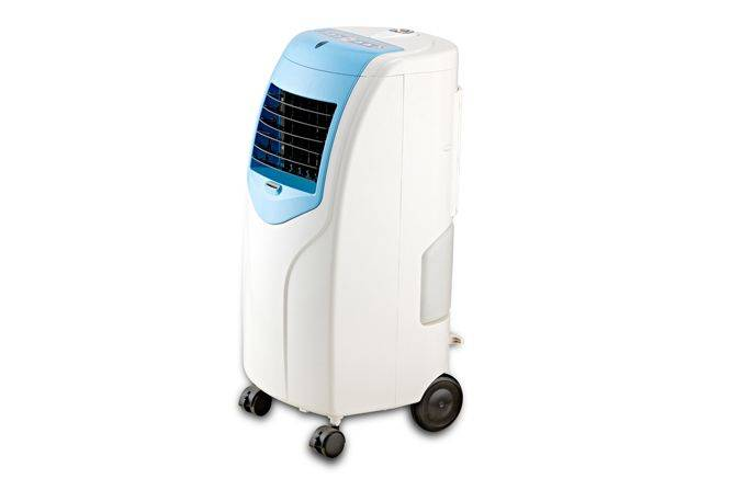 Box air cooler with big water tank, remote control air filter